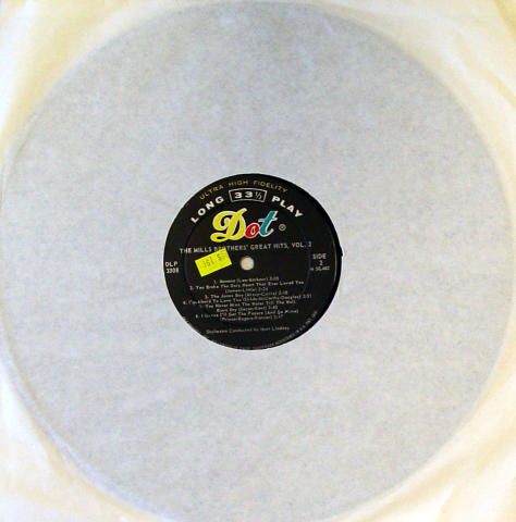 "The Mills Brothers Vinyl 12"""