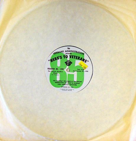 """Felicia Sanders Vinyl 12"""""""
