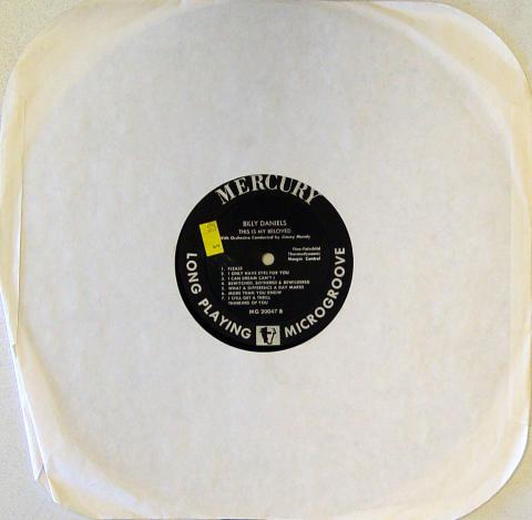 "Billy Daniels Vinyl 12"""