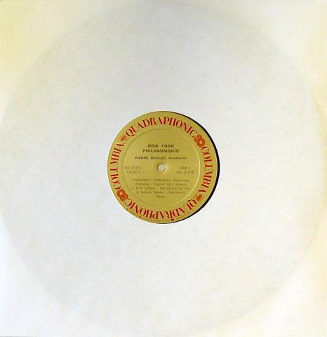 """Stravinsky: Petrushka Vinyl 12"""""""
