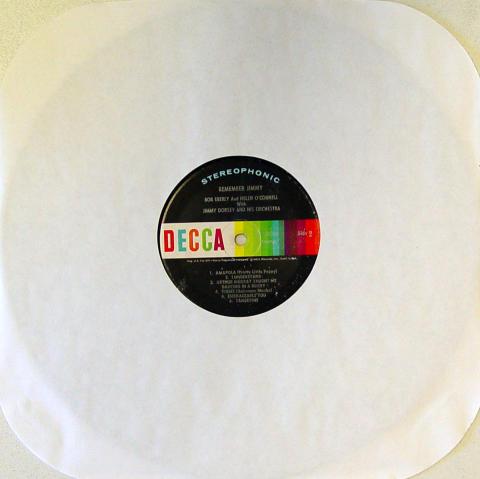 "Bob Eberly / Helen O'Connell / Jimmy Dorsey Vinyl 12"""