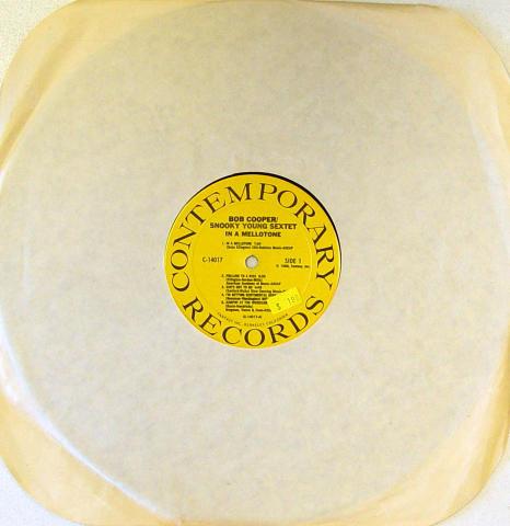 """Bob Cooper / Snooky Young Vinyl 12"""""""