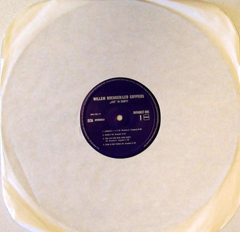 "Willem Breuker Vinyl 12"""