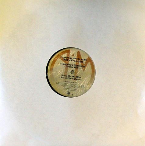 "Peter Frampton Vinyl 12"""