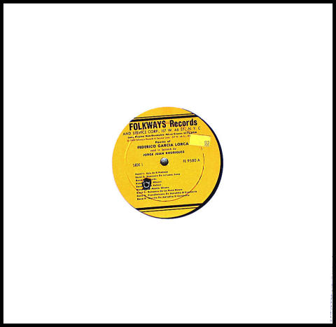 "Jorge Juan Rodriguez Vinyl 12"""