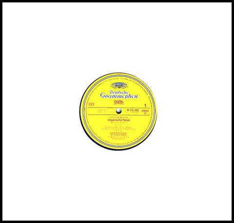 "Johnanes Brahms: Ungarische Tanze Vinyl 12"""