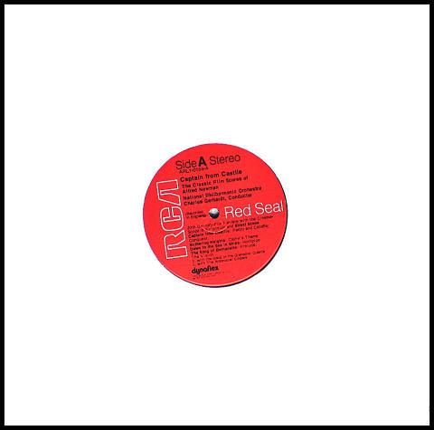 """Captain From Castile Vinyl 12"""""""