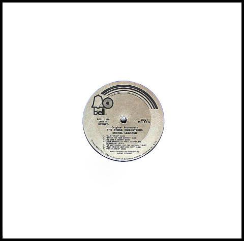 """The Three Musketeers Vinyl 12"""""""