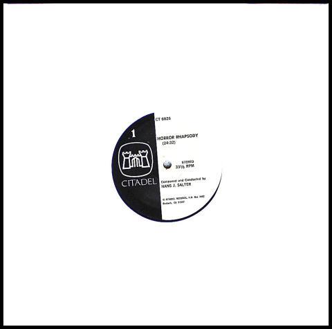 "Horror Rhapsody / Horror Express Vinyl 12"""