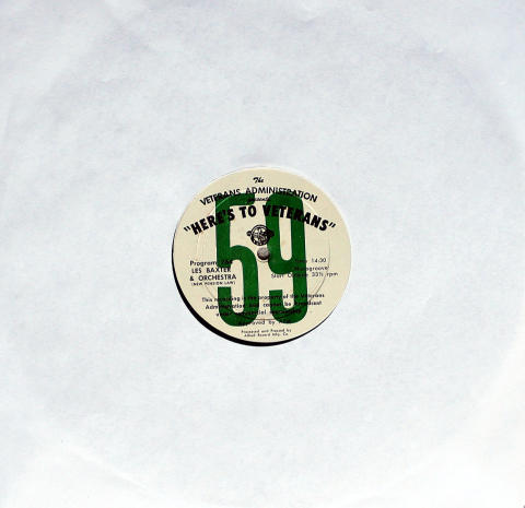 """Red Nichols and Five Pennies / Lex Baxter & Orchestra Vinyl 12"""""""