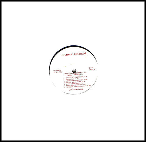 "A Christmas Celebration: Special Christmas Mix Vinyl 12"""