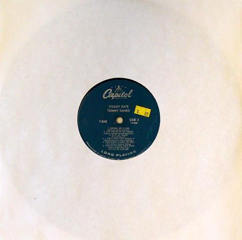 "Tommy Sands Vinyl 12"""