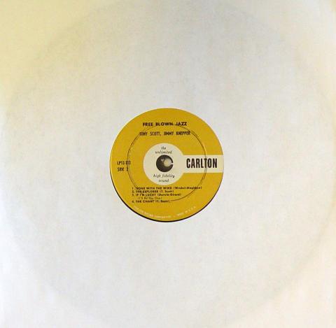 """Tony Scott Vinyl 12"""""""