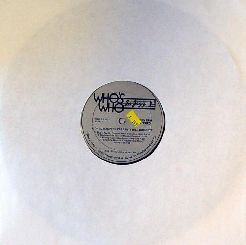 """Lionel Hampton / Bill Doggett Vinyl 12"""""""