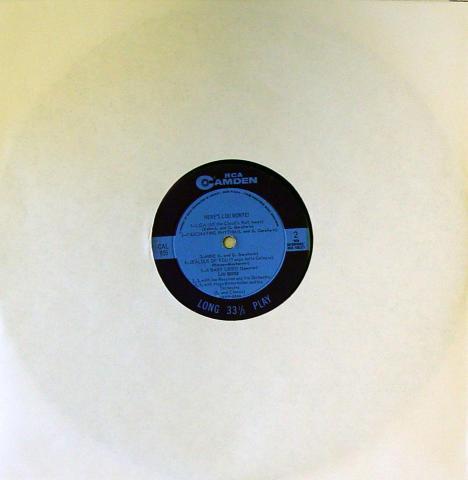 "Lou Monte Vinyl 12"""