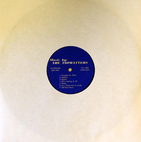 """The Tophatters Vinyl 12"""""""