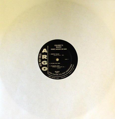 """Chubby Jackson Vinyl 12"""""""