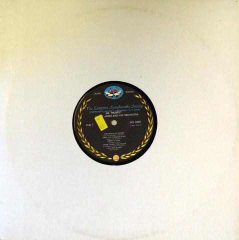 "Harry James & His Orchestra Vinyl 12"""