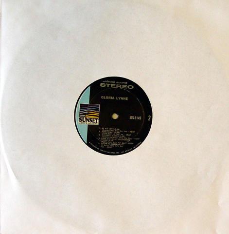 """Gloria Lynne Vinyl 12"""""""
