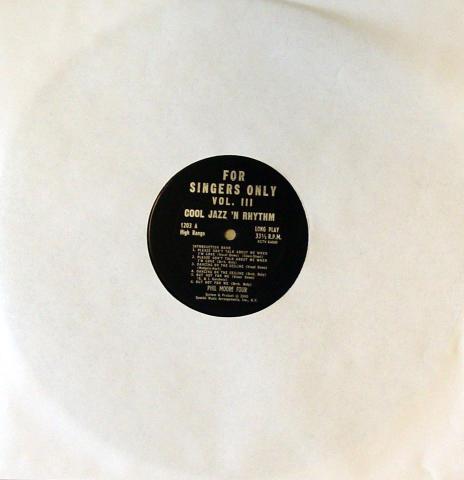 """Phil Moore Four Vinyl 12"""""""