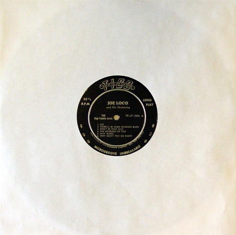 "Joe Loco And His Orchestra Vinyl 12"""
