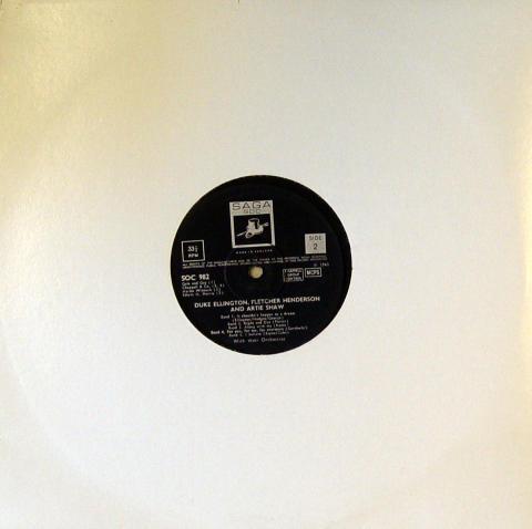 "Duke Ellington / Fletcher Henderson / Artie Shaw Vinyl 12"""
