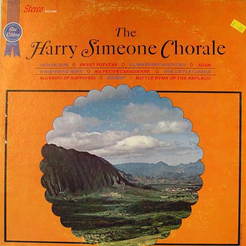 "The Harry Simeone Chorale Vinyl 12"""