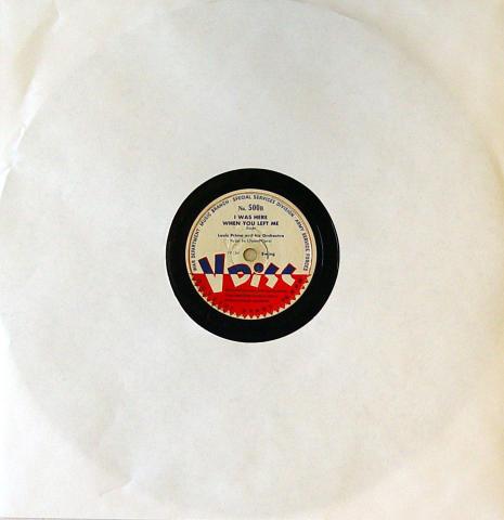 "Louis Prima And His Orchestra / Glen Gray And The Casa Loma Orchestra Vinyl 12"""