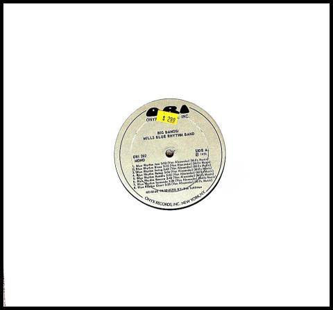 "Mills Blue Rhythm Band Vinyl 12"""