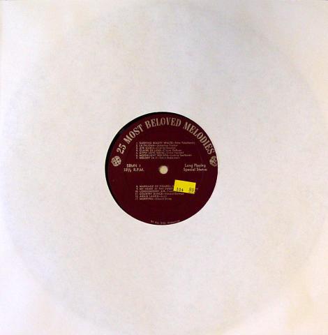 """25 Most Beloved Melodies Vinyl 12"""""""