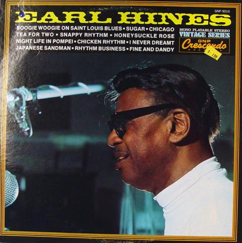 """Earl Hines Vinyl 12"""""""