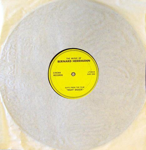 "Bernard Herrmann Vinyl 12"""