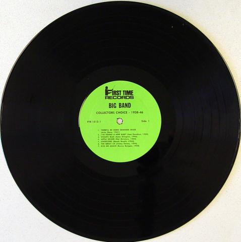 "Big Band Collectors Choice: 1938-1946 Vinyl 12"""