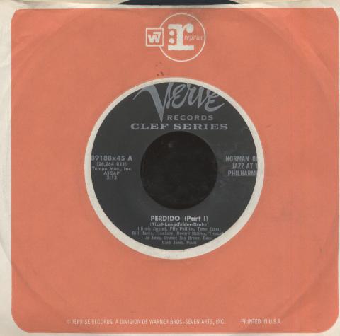 "Norman Granz Vinyl 7"" (Used)"