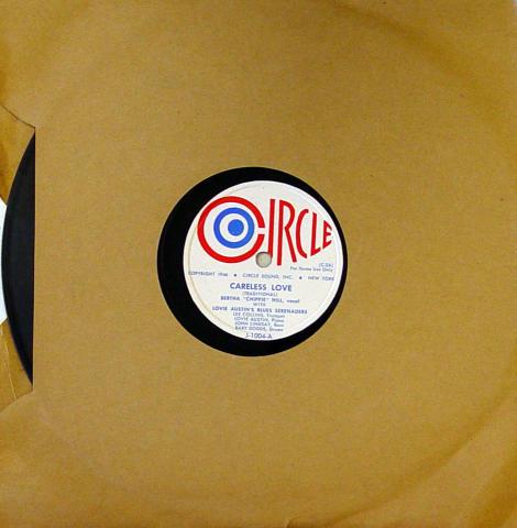"""Lovie Austin / Bertha """"Chippie"""" Hill / Baby Dodds 78"""