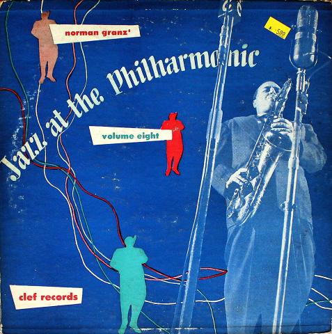 "Norman Granz' Jazz At The Philharmonic: Volume Eight Vinyl 10"" (Used)"