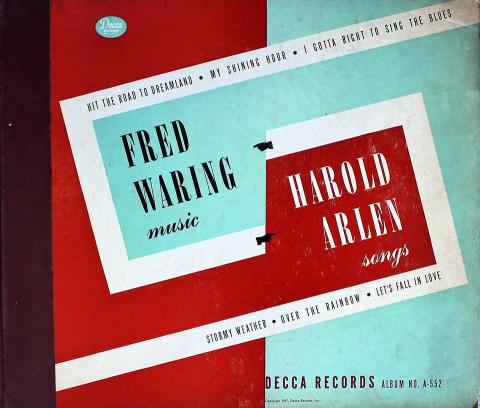 Fred Warring / Harold Arlen 78