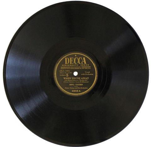 Bing Crosby Sings Victor Herbert 78