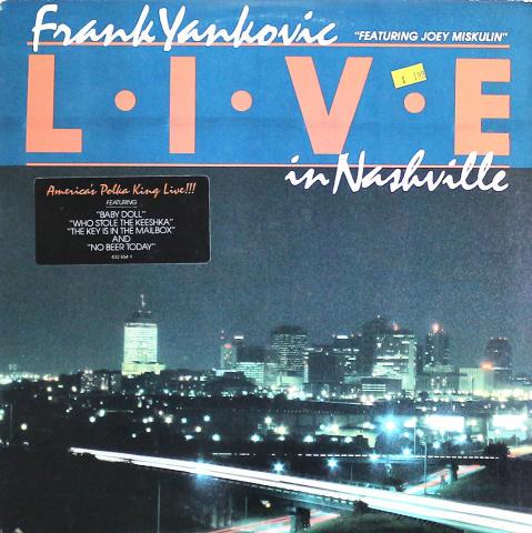 """Frank Yankovic Vinyl 12"""""""
