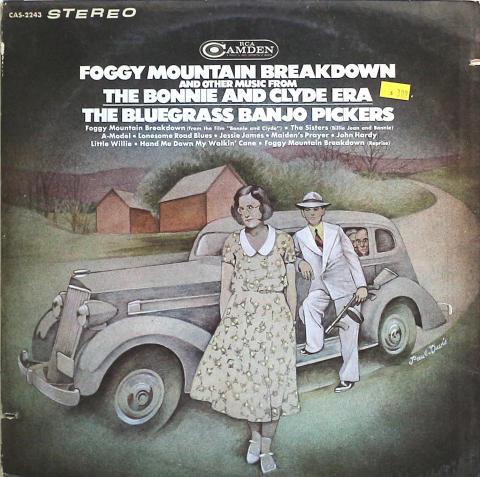 "The Bluegrass Banjo Pickers Vinyl 12"""