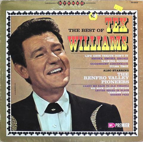 """Tex Williams Vinyl 12"""""""