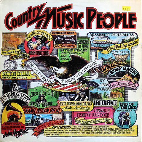 "Country Music People Vinyl 12"""