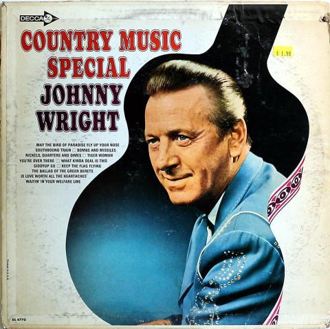 "Johnny Wright Vinyl 12"""