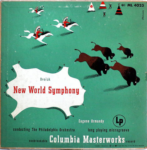 """New World Symphony Vinyl 12"""""""