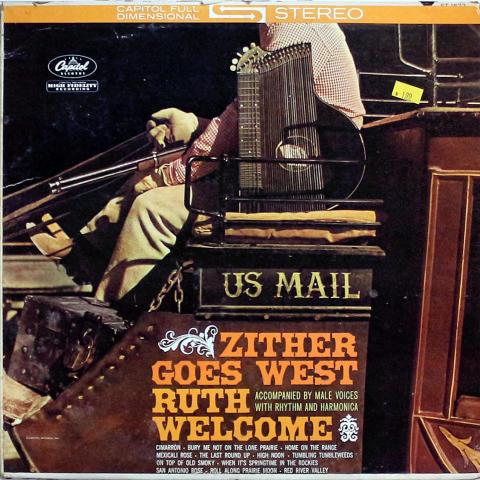 "Ruth Welcome Vinyl 12"""