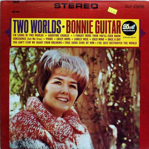 "Bonnie Guitar Vinyl 12"""