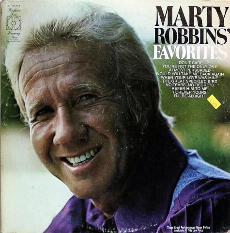 """Marty Robbins Vinyl 12"""""""