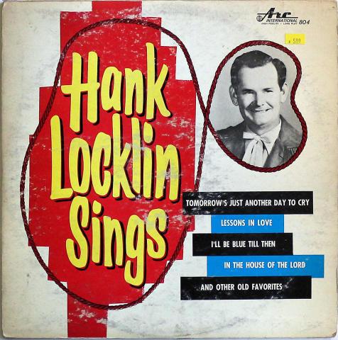 """Hank Locklin Vinyl 12"""""""