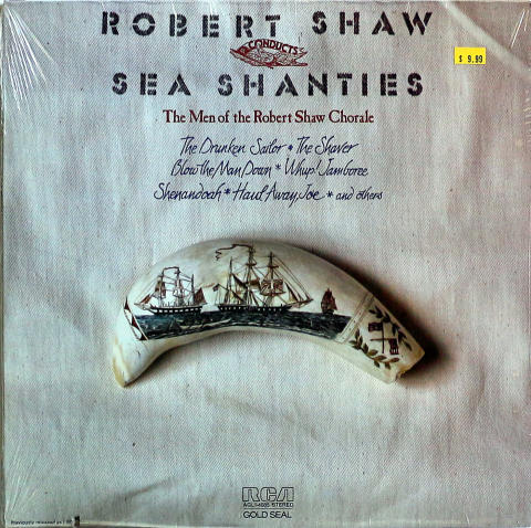 "Robert Shaw Chorale Vinyl 12"""
