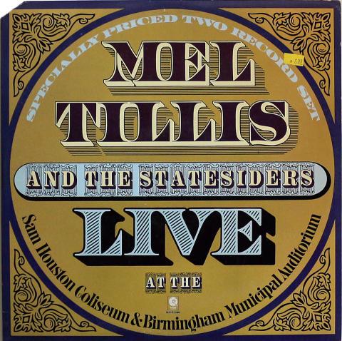 "Mel Tillis And The Statesiders Vinyl 12"""